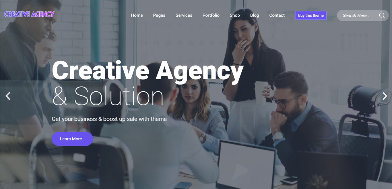 Ombrello Agency theme demo