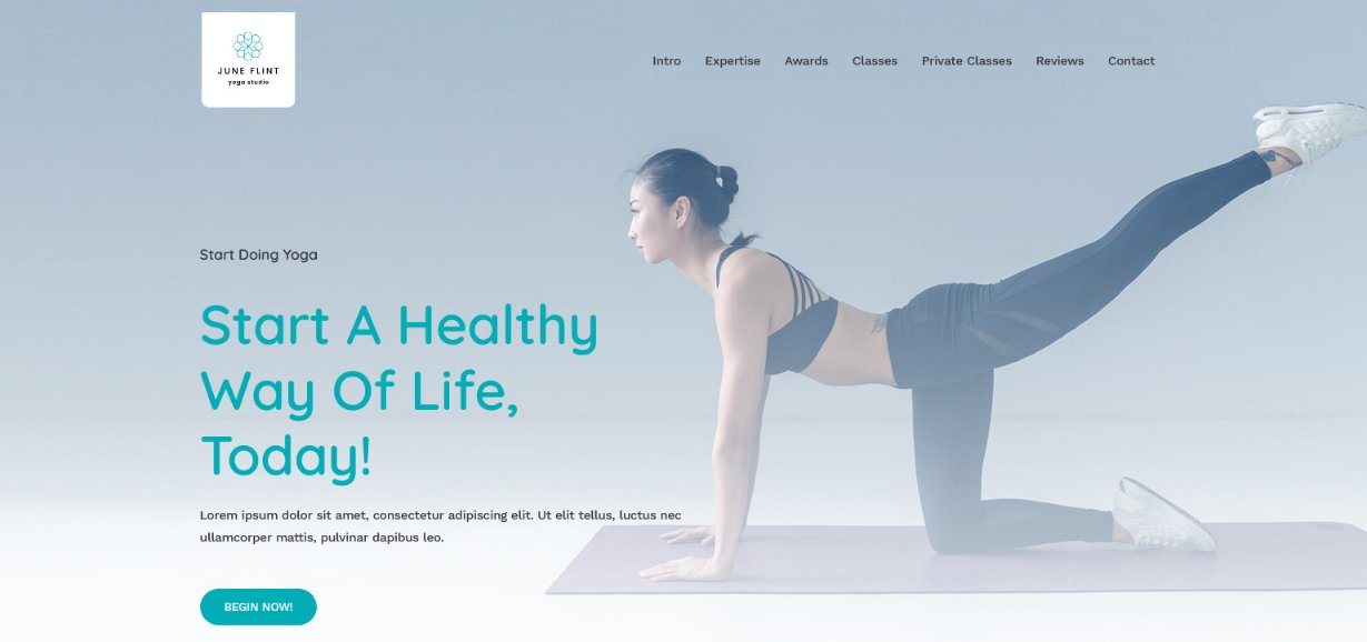 Astra Yoga Studio website