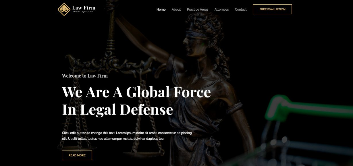 Astra law Firm demo site