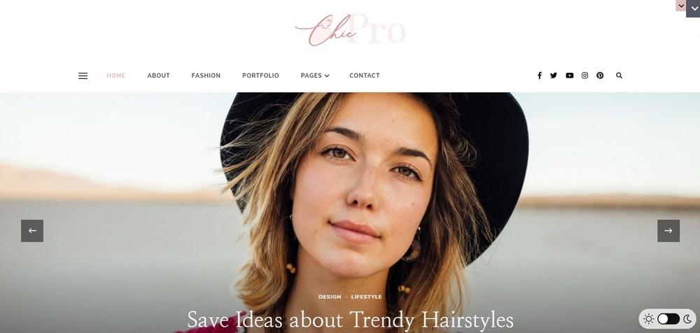 Chic Pro by Rara themes demo