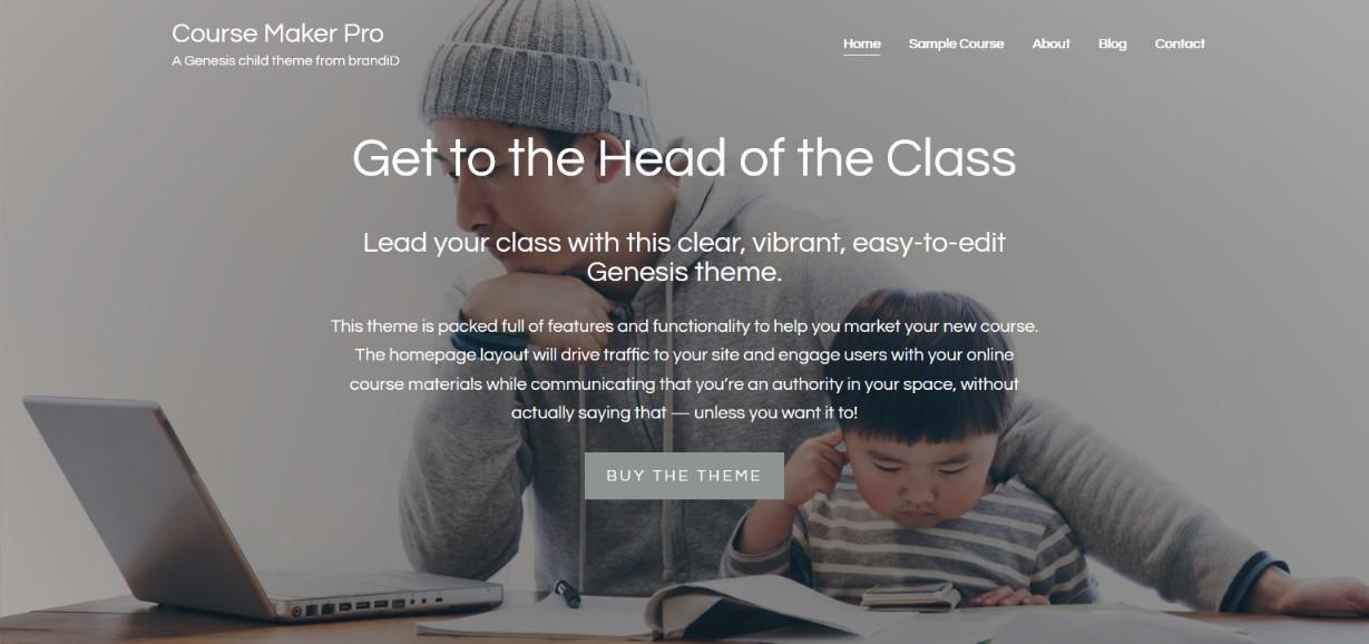 Course Maker Pro demo site