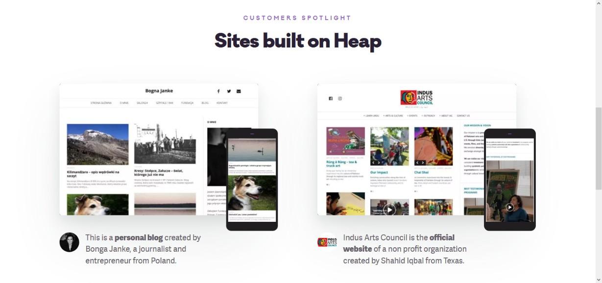 Heap Simple Blogging WordPress Theme