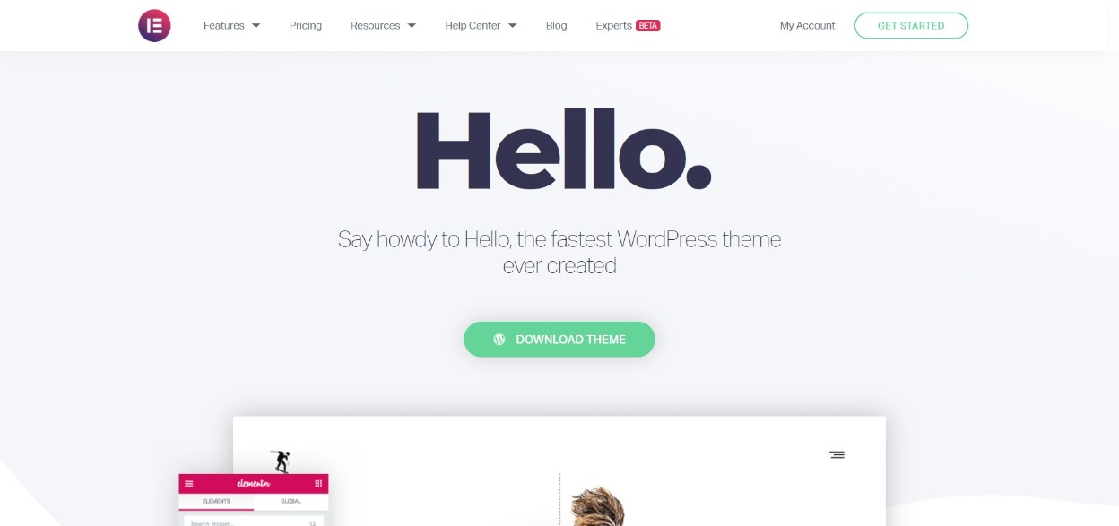Hello wordpress responsive theme