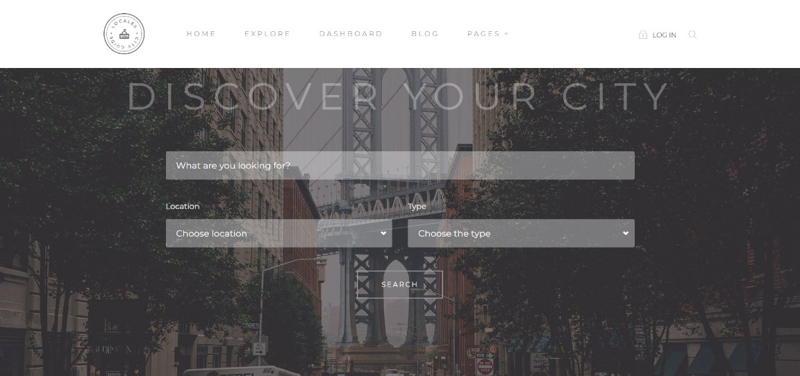 Locales business theme