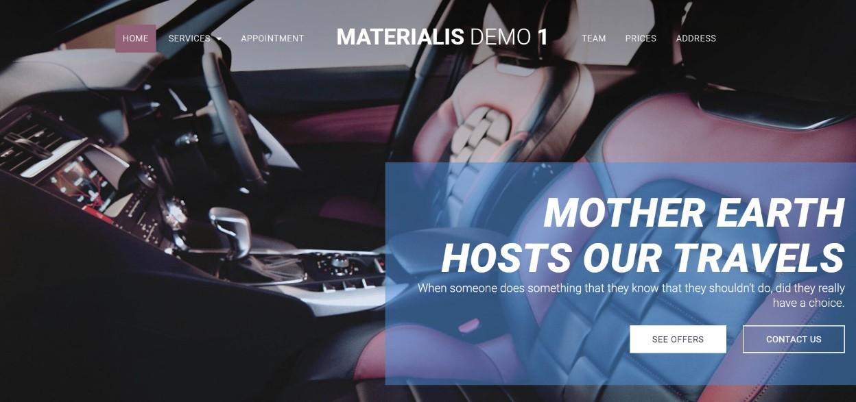 MATERIALIS demo