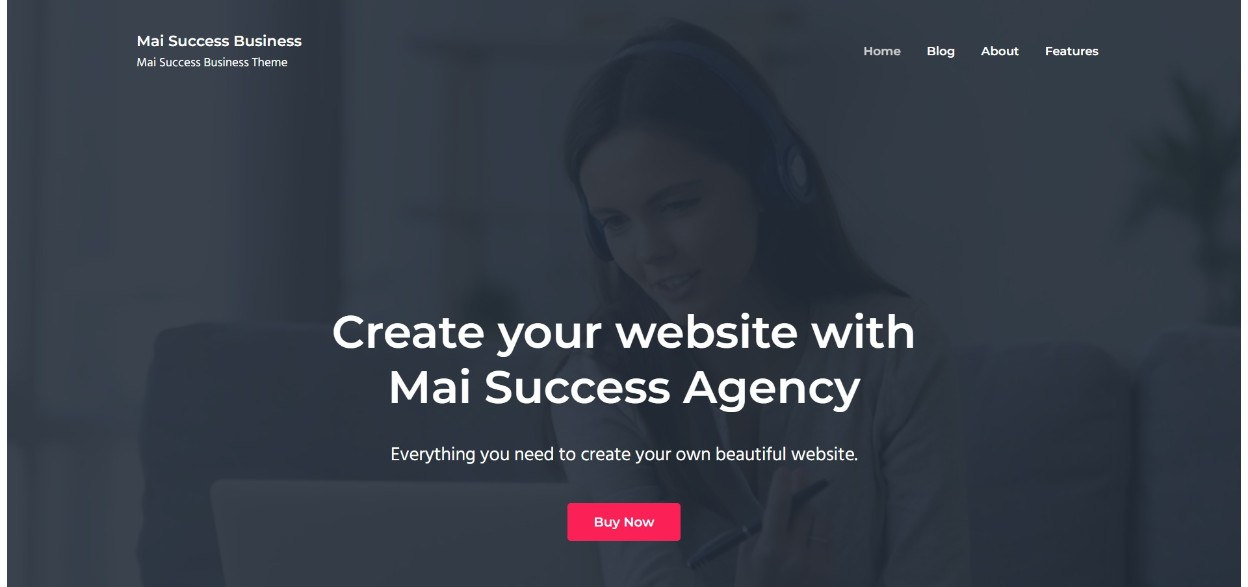 Mai Success Business studiopress theme