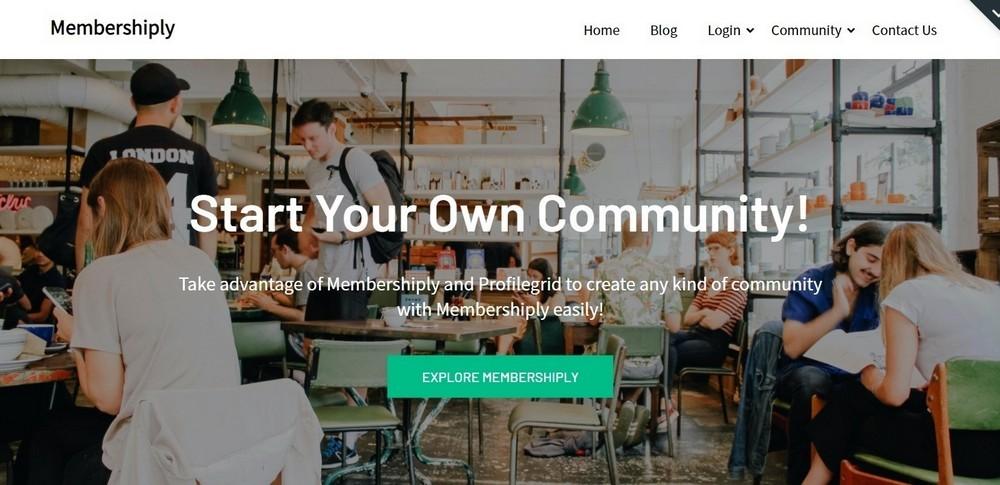 Membershiply WordPress Theme Demo