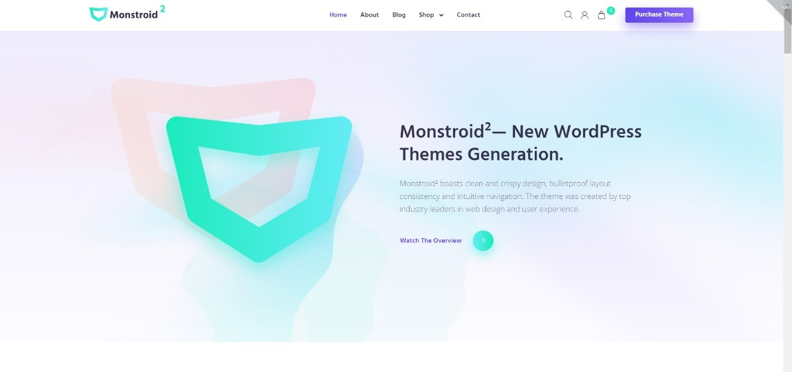 Monstroid2 Multipurpose Modular Elementor WordPress Theme demo site