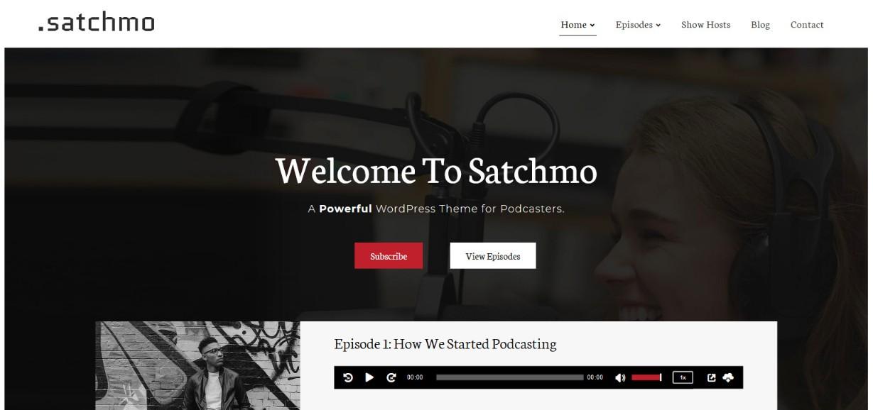 Satchmo demo