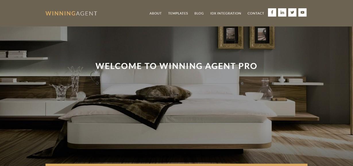 Winning Agent Pro Theme Demo site