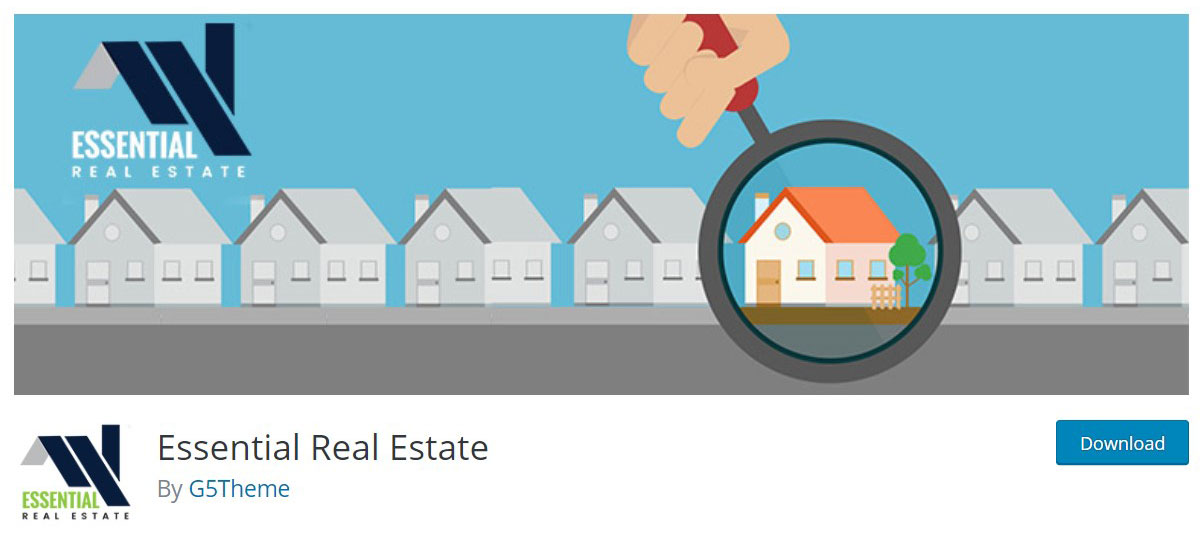 Essential real estate plugin image