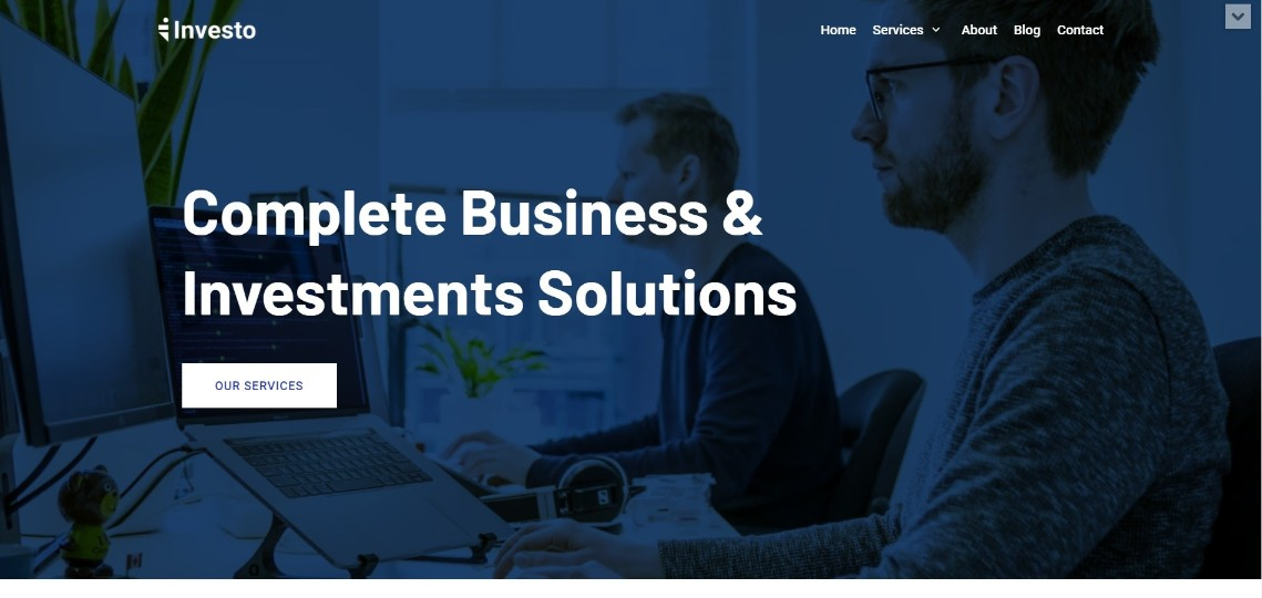 neve Investment Consulting Template Demo
