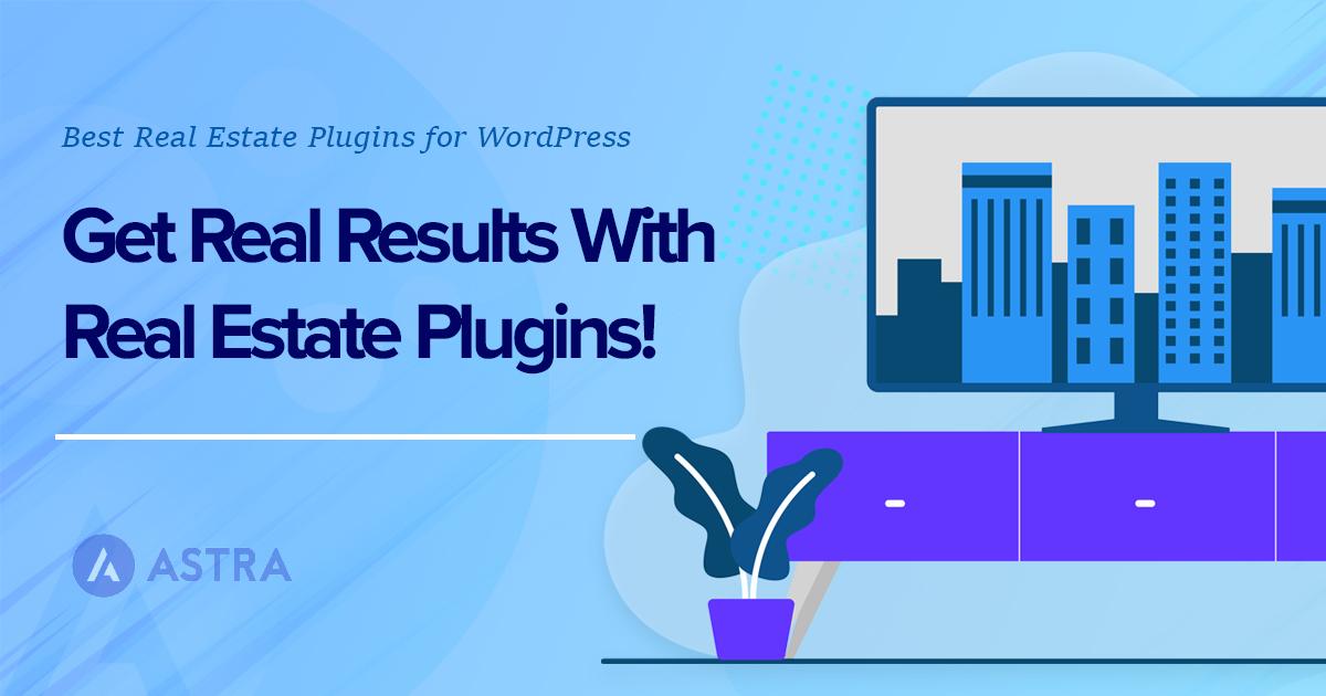 Top Real estate plugin for WordPress