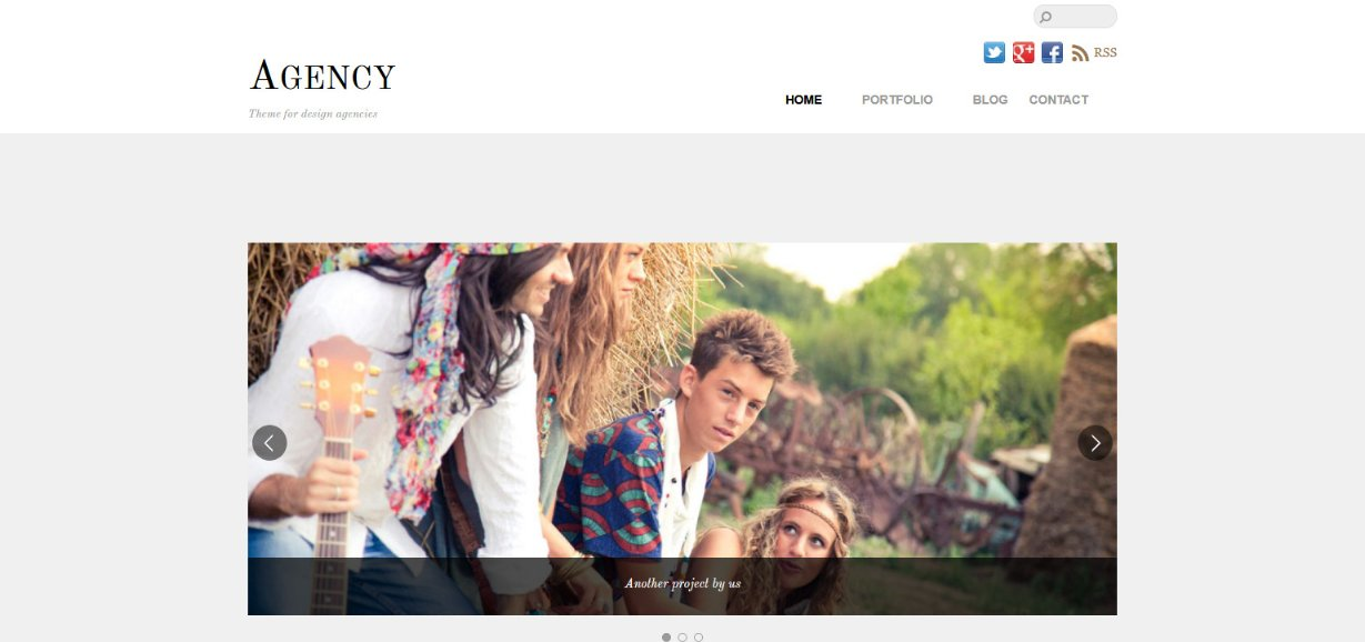 themify Agency Demo site