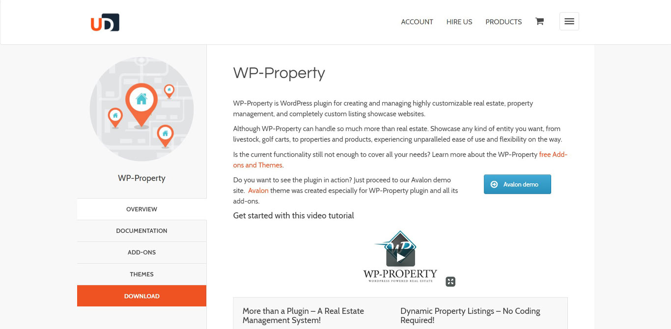 WP property site image