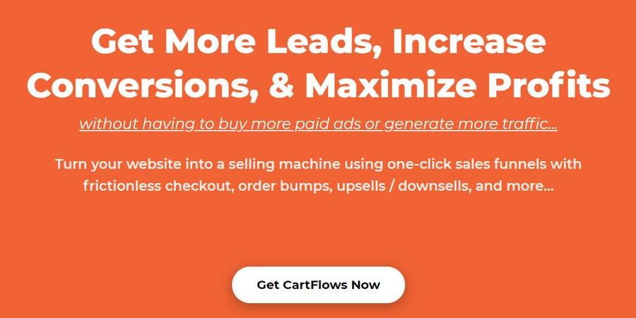 Cartflow WordPress plugin