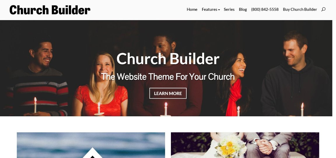 Church Builder demo site