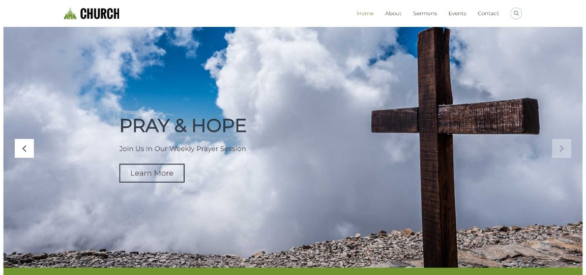 Flash Pro Church wordpress theme