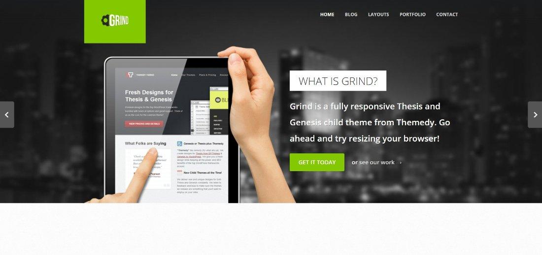 Grind demo site