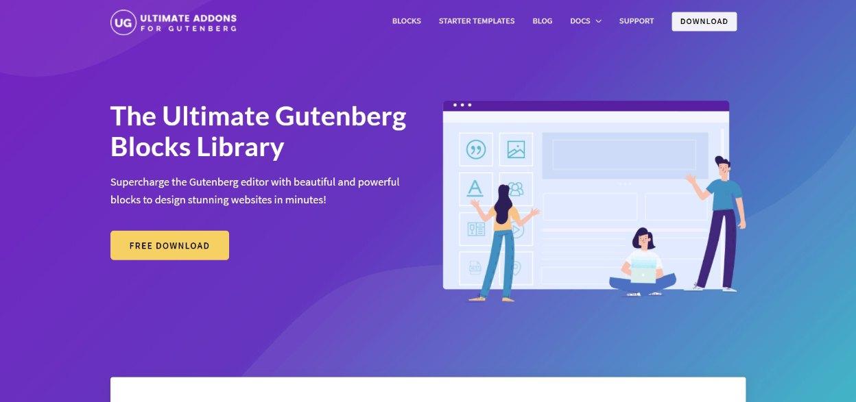 Gutenberg Blocks Library For WordPress