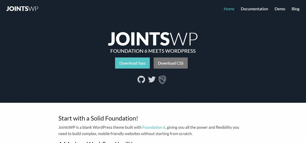JointsWP homepage