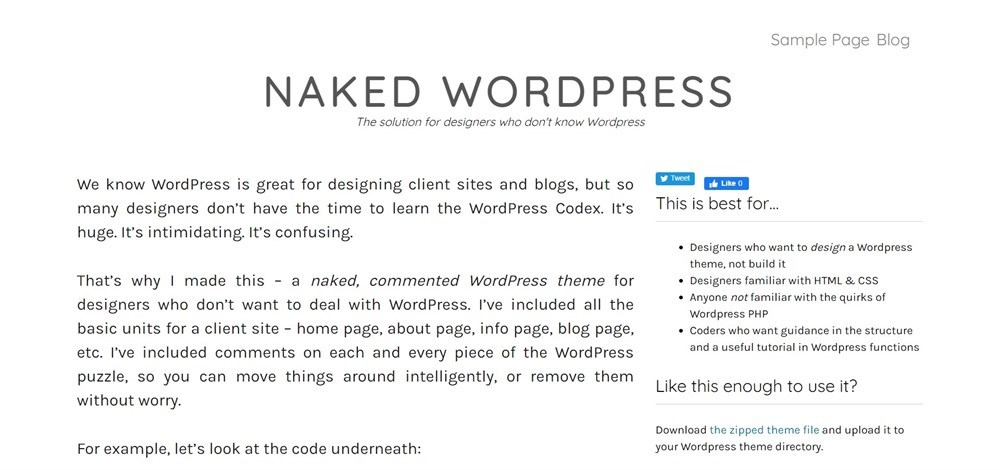 21 Best Wordpress Starter Themes For Developers In 2021