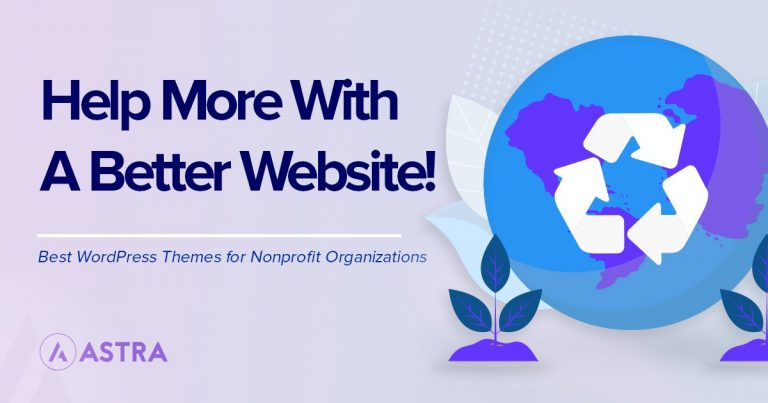 Nonprofit themes for WordPress
