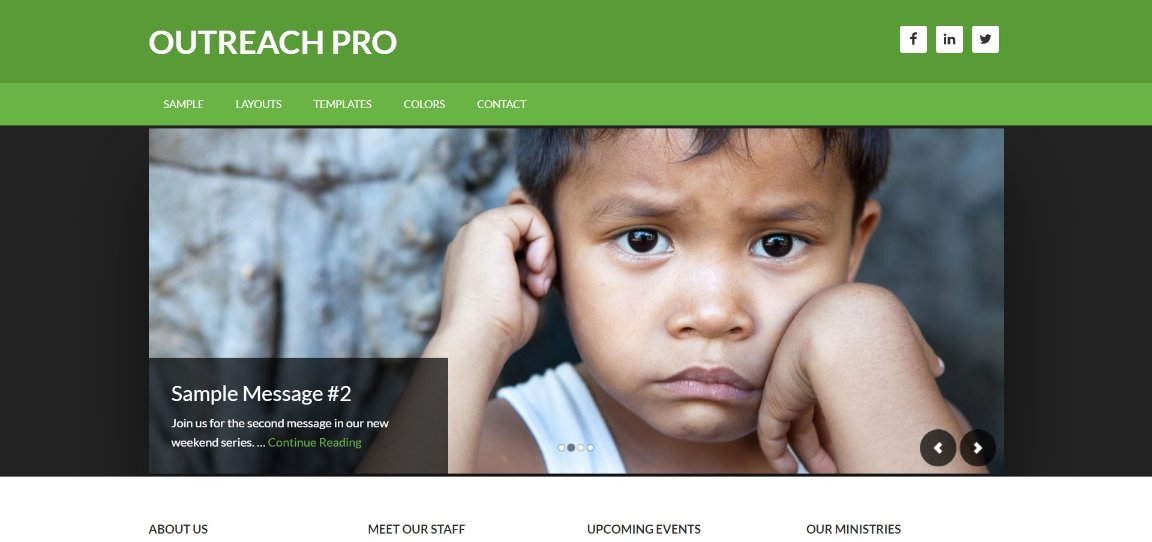 Outreach Pro wordpress theme
