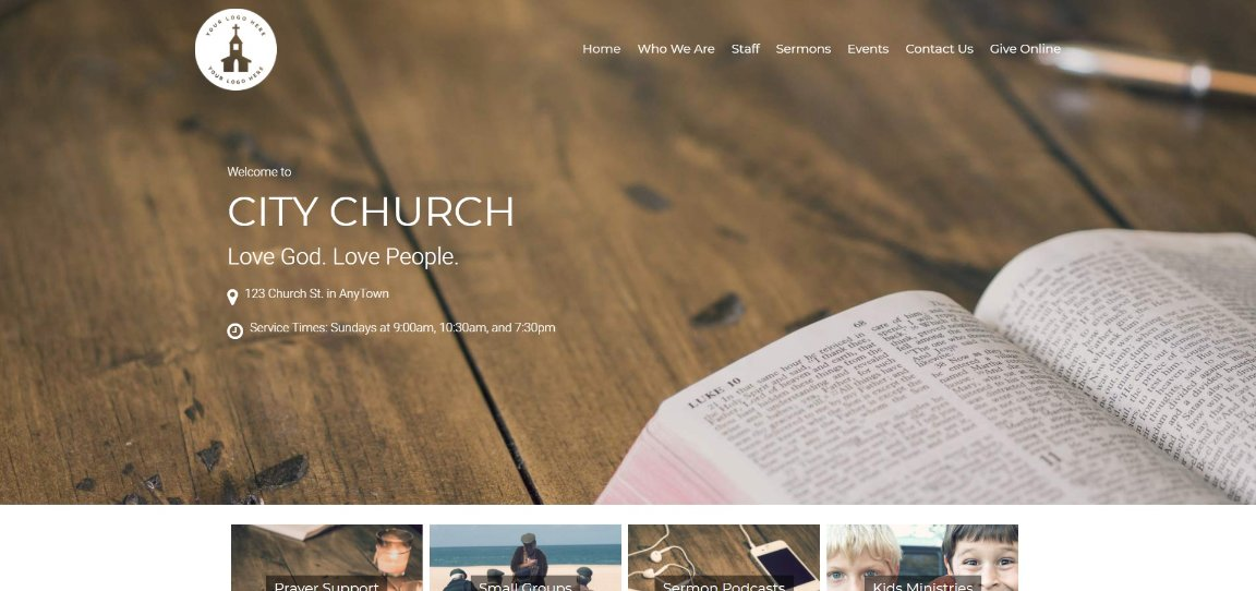 Restore Church WordPress Theme demo site