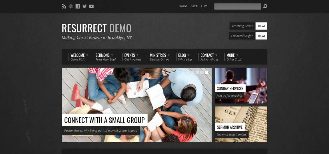 Resurrect demo site