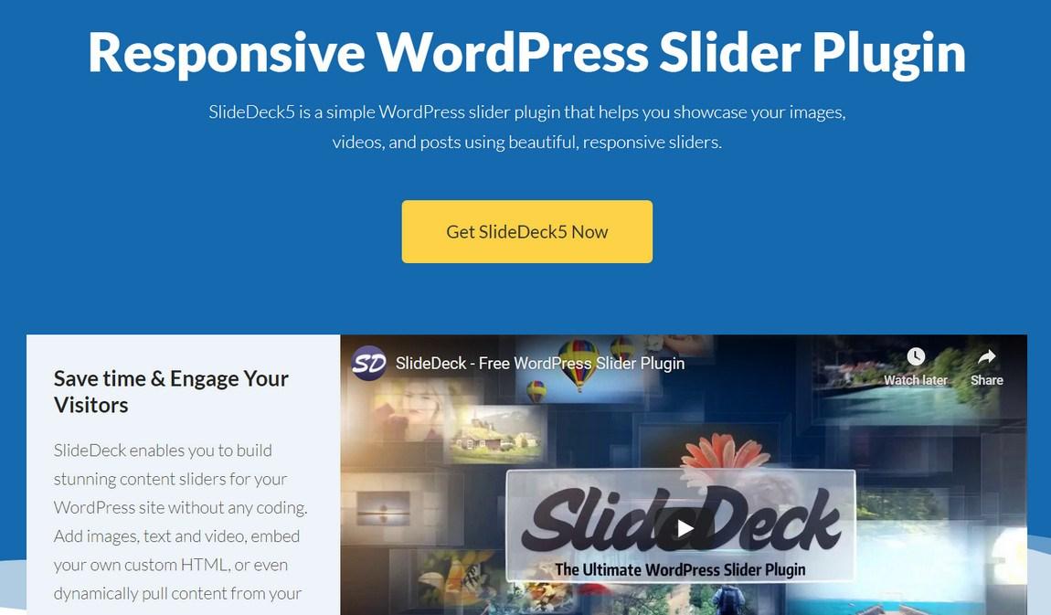 Slidedeck wordpress slider plugin