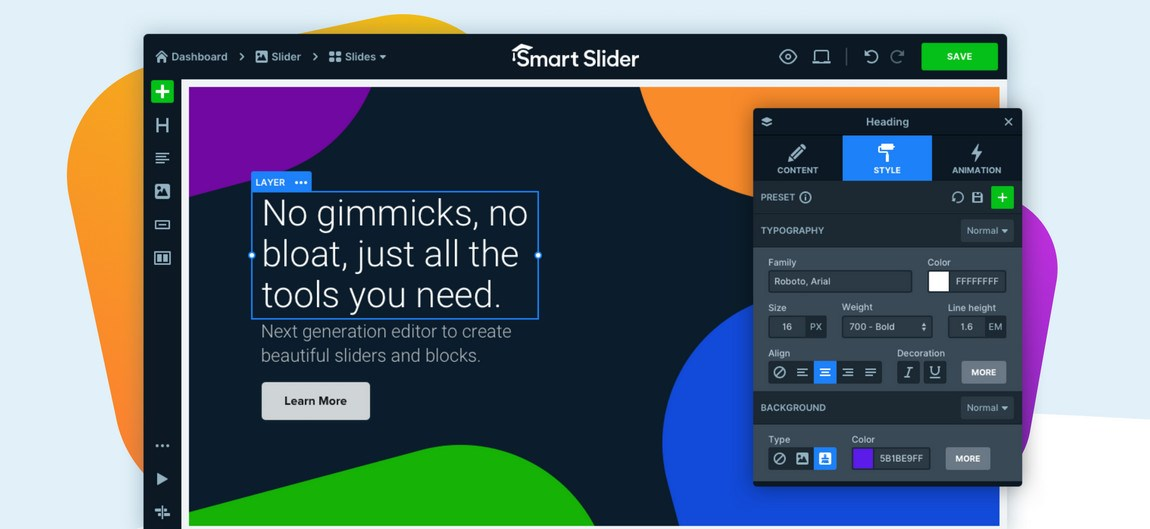 Smart Slider 3 WordPress plugin