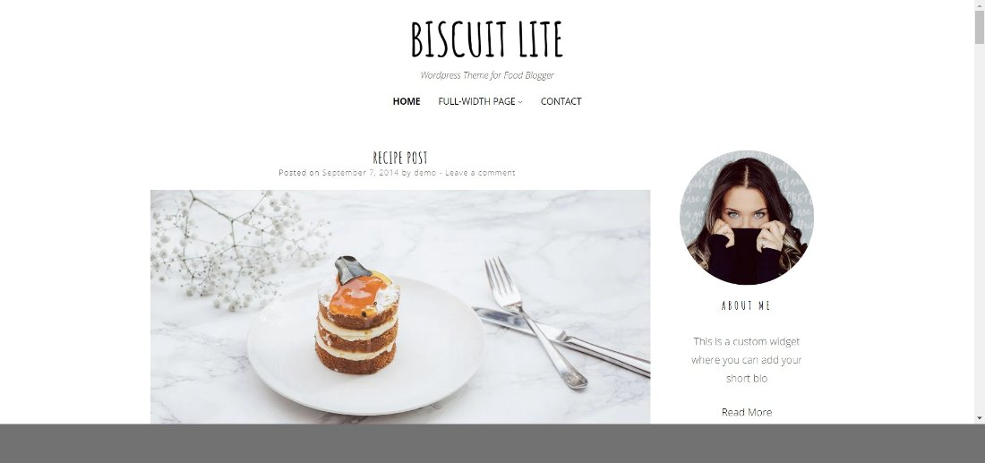 biscuit lite wordpress theme demo template