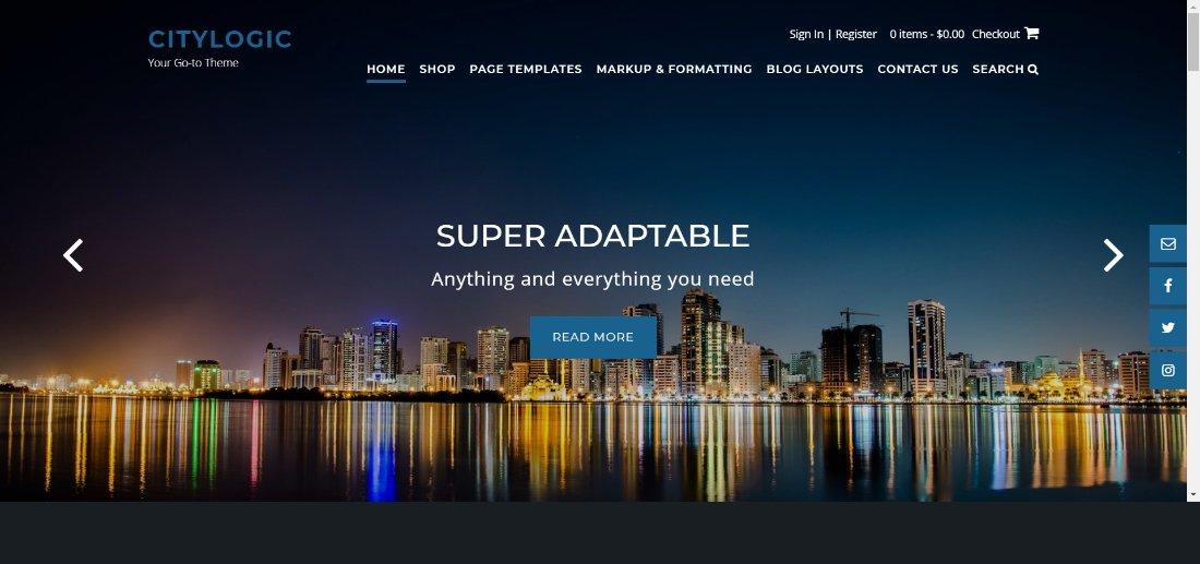 city logic wordpress theme