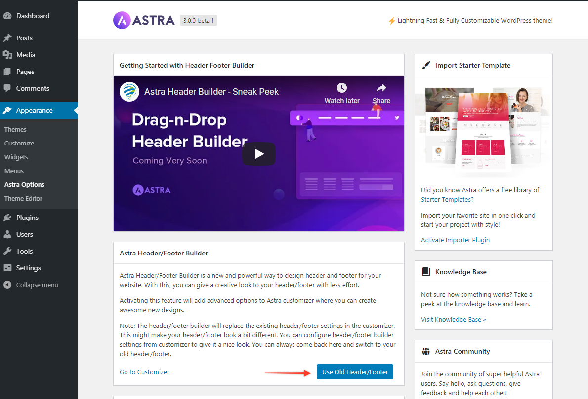 Beta test the awesome new header image features pdf