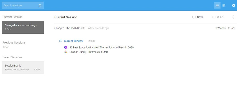 session buddy chrome extension