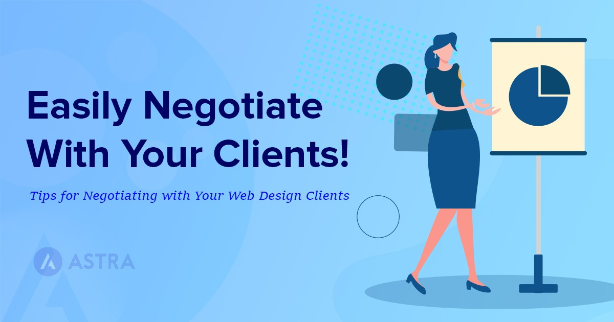 tips for negotiating web design clients