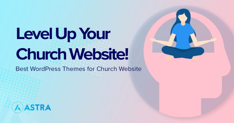 wordpress themes for church website