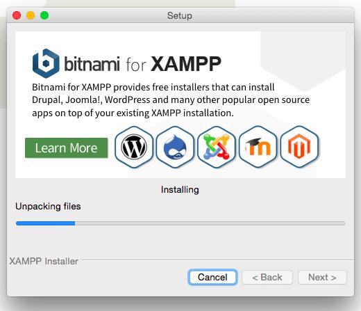 xampp installation on Mac 6