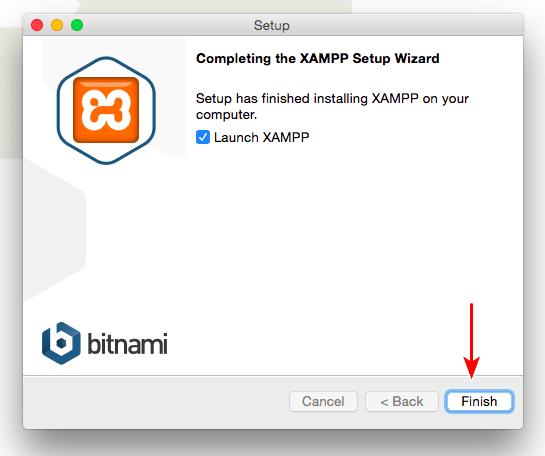 Xampp example website