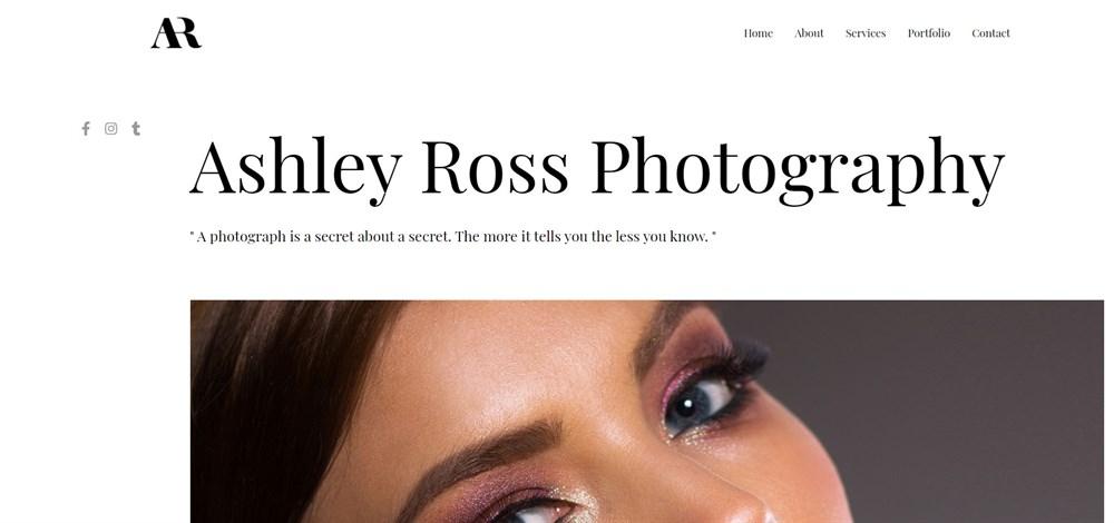 Astra Photography Portfolio theme