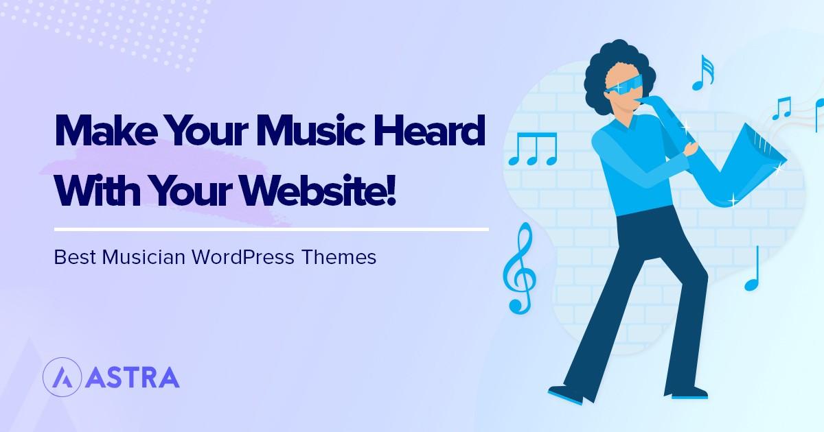 Best musician WordPress themes