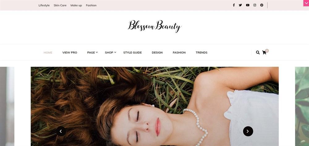 Blossom Beauty WordPress Theme Demo