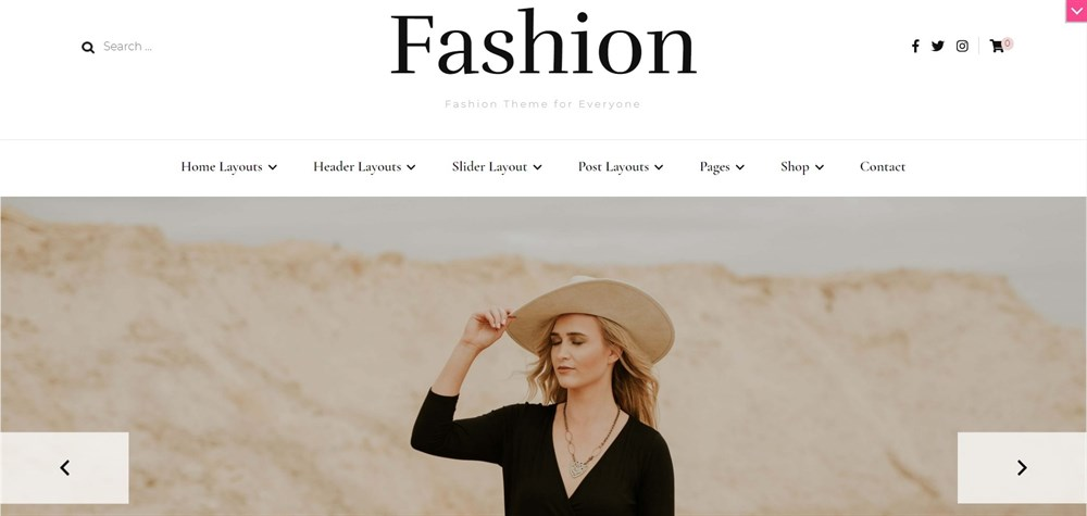 Blossom Fashion Pro WordPress Theme