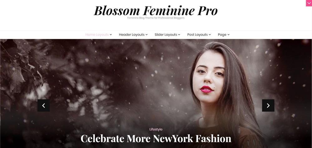 Blossom Feminine Pro WordPress Theme Demo