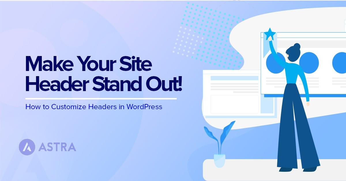 Custom WordPress Header