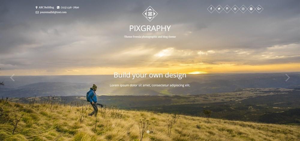 PIXGRAPHY demo site