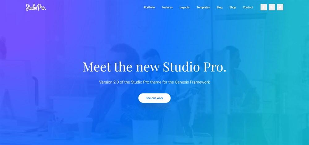 Studio Pro genesis theme