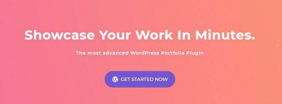 WP Portfolio website