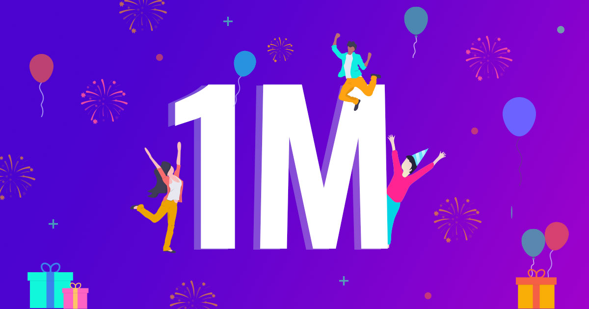 1 Million active installs for Astra